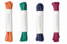 shoelaces for erick & groomsmen