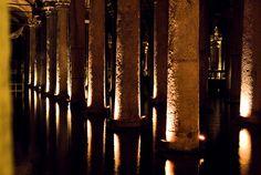 Cistern underneath Istanbul