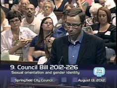 OFFICIAL Preacher Phil Snider gives interesting gay rights speech 2012 - Profound, heartbreaking, and effective