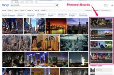 Bing Adds Pinterest Boards to Image Search. REPIN the good news!