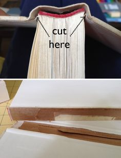 "Sewing Barefoot: ""hidden storage"" books"