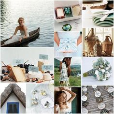 Ocean Blue, Pearl, Sea Green, Wicker