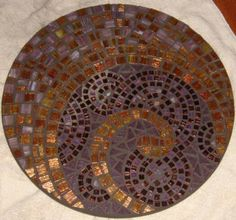 beautiful mosaic table top