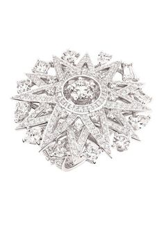 Chanel The 1932 Collection.  The Cosmos ring in 18k white gold and diamonds