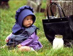 Amish baby...