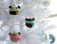 Ravelry: Amigurumi Teddy Ornaments pattern by Stephanie Jessica Lau