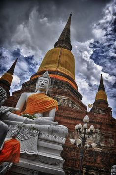Temple in Ayutthaya, Thailand