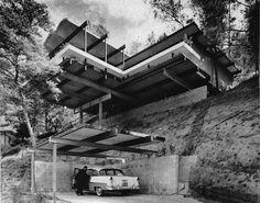 Raul F. Garduno: Hillside House, LA, 1962