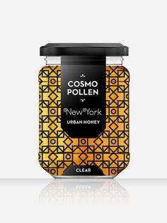 Cosmopollen Urban Honey | Designed by Louise Twizell