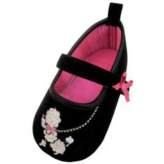 these are sooooo cute! Poodle Mary Jane