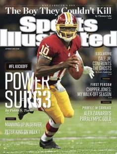 Washington Redskins QB RGIII turned in a dazzling performance in his NFL debut and appears on your regional cover this week.  http://on.si.com/UKwomK