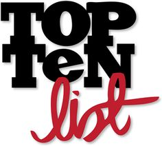 2012 Top Ten List Scholarship - open to US students 13 years and older. Deadline 12/31/12
