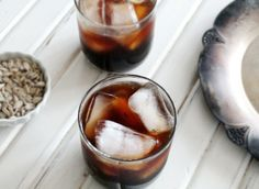 Homemade coffee liquor {Kahlua}