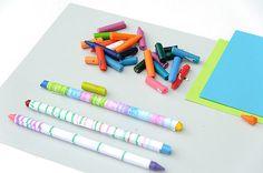 Recycled Rainbow Crayons DIY