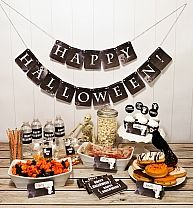 www.apaintednest.com Printable halloween party pack $8