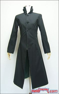 $59.99    Darker Than Black Cosplay Costume    Including:One pc of Long Suit    Fabric:Polyester+Cotton