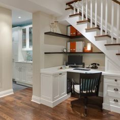 Home Office - Finished Basement Ideas - 10 Total Makeovers - Bob Vila