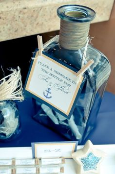 Perfect for a beach/nautical wedding