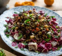 Lentil Salad with Ro