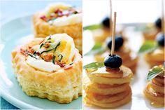 mini quiche, mini pancake skewers #mini #breakfast #food