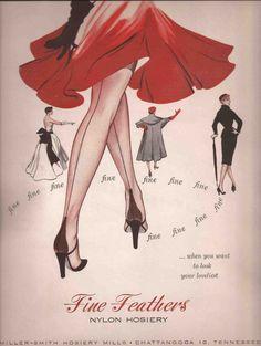 60s Hosiery Ad