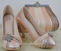 Handbag & Shoes Cake - Cake International Gold Entry :) - by CakeyBake @ CakesDecor.com - cake decorating website