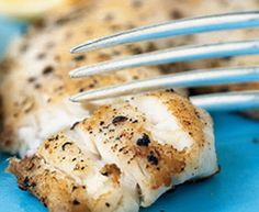 Tilapia recipe for the Foreman Grill. This is amazing, easy, fast, delicious, nutritious... you won't believe it!