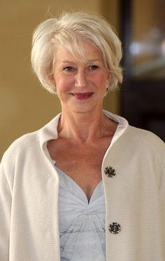 Helen Mirren's hair