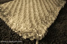FREE Crochet Baby Blanket Pattern Beautiful Textured Balnket Pattern with the Corner to Corner Stitch