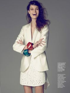 visual optimism; fashion editorials, shows, campaigns & more!: invista no blazer: debora muller by tiago molinos for marie claire brasil august 2013