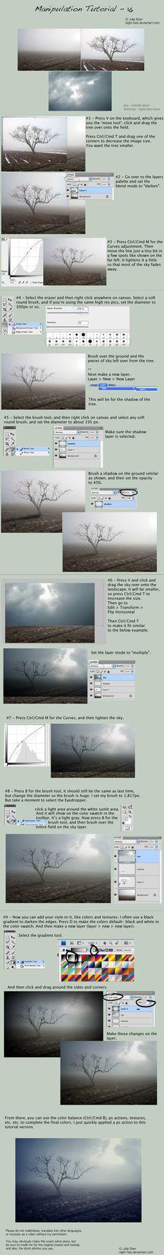 Nature Photoshop tutorial
