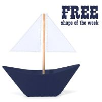 FREE Shape of the Week 1/29 :: 3d boat