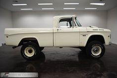 Classic Car Liquidators 1968 Dodge SWB Power Wagon 4X4 Cummins Diesel - $18,999