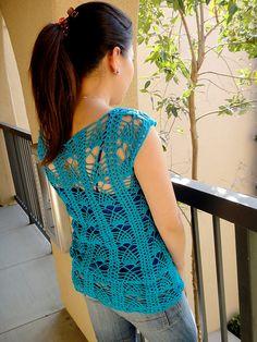Summer top crochet pattern $ ravelry