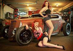 rat rods and red heads oh my