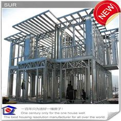 story light steel structure homes.