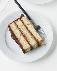 Giant Black-and-White Layer Cake Recipe