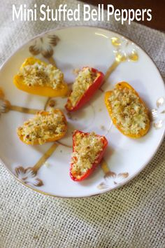 The Best Goat Cheese Stuffed Mini Peppers Recipe #game day #superbowl