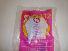 1999 McDonald's Happy Meal Toy TY Chip The Cat #12 NEW!