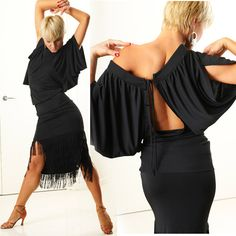 OMG what a gorgeous latin dance dress!