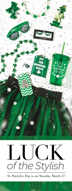 St. Patrick's Day Style and Accessories from Icing!