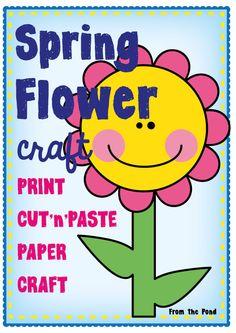 Spring Flower Paper Craft