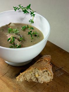English Onion Soup with Sage and Cheddar | Recipe