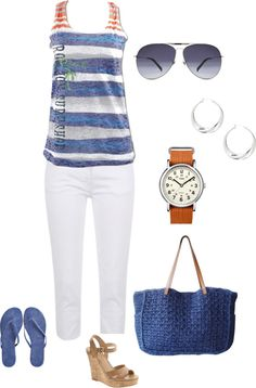 Summer, created by pspierce on Polyvore