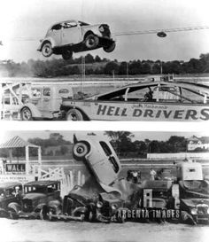 Brockton Fair, Jack Kochman's Hell Drivers. Brockton, Ma More