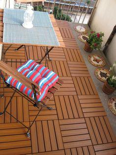 Small balcony - patio decor