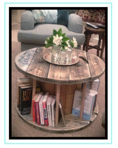 Cable Reel Table....awesome no where do I find a cable reel?