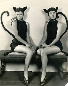 Marceline and Alice Day - c. 1920s