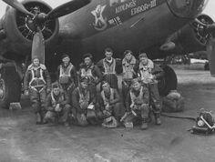 B-17 crew, 96th BG, 413th BS. war ll, fli fortress, fli ace, wwii bomb, bomb group, b17 fli, war era, frank bellami