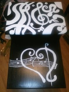 Handpainted furniture on Pinterest
